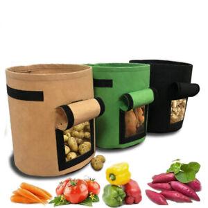 4 7 10 gallon Potato Grow Planter Planting Container Bag Garden Pot Intriguing