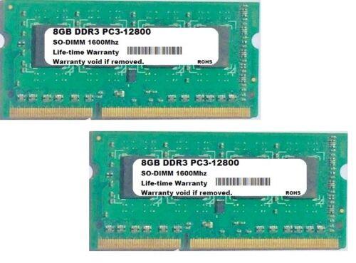 NEW 16GB Kit Memory PC3-12800 SODIMM Ram For Toshiba Satellite C55-B5299 2x8GB