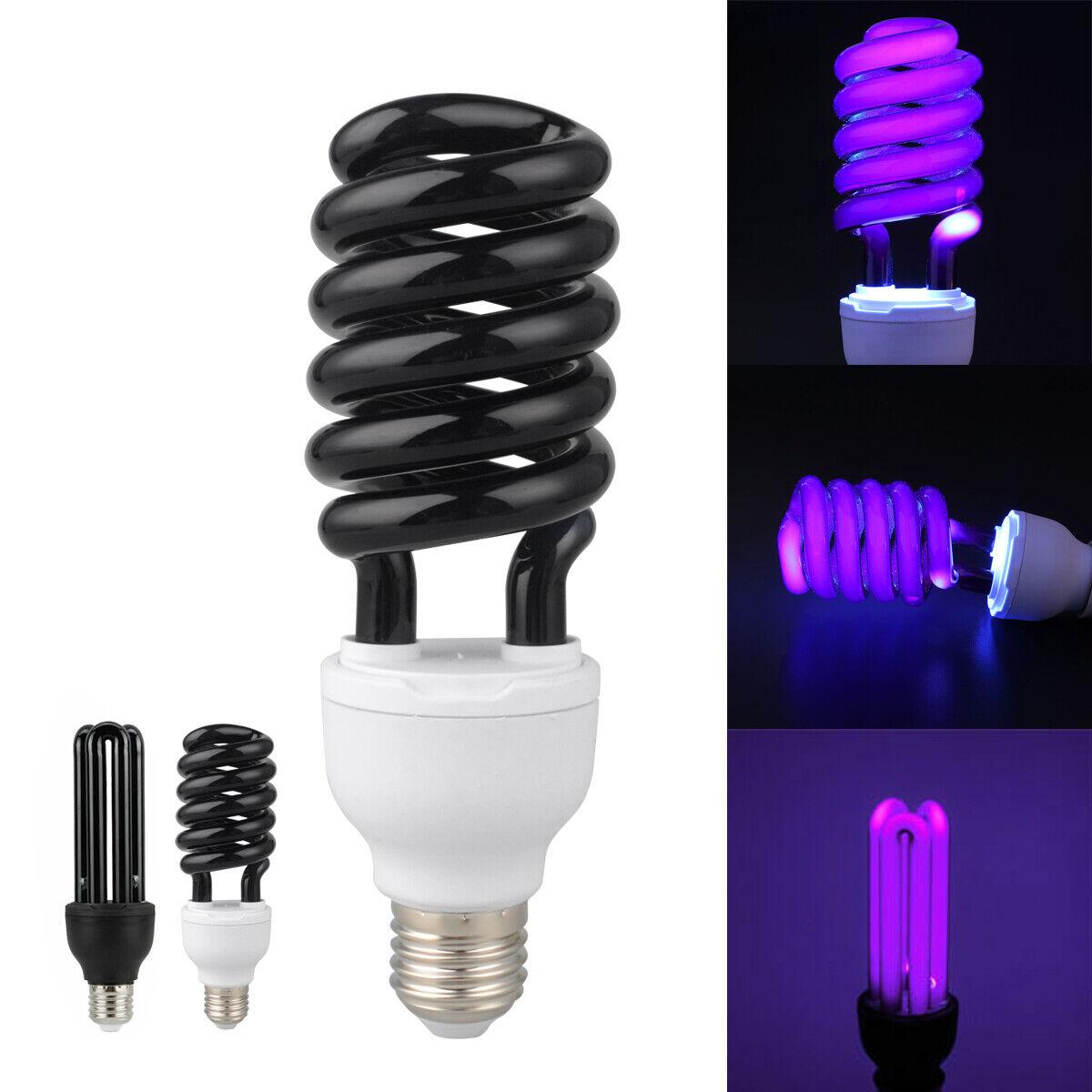 E27 UV Light Bulb Ultraviolet Blacklight Sprial//Straight Lamp Bulb Lure Lamp