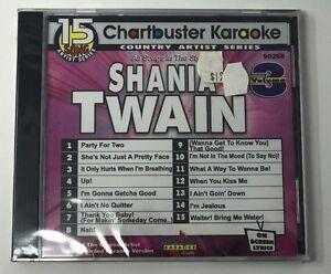 Details about CHARTBUSTER KARAOKE COUNTRY SHANIA TWAIN VOL 3 CD+G ON-SCREEN  LYRICS 15 SONGS!