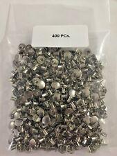 400 Steel Nickel Semi Tubular Rivets 964 Dia X 364 Grip Lgth516 Head Dia