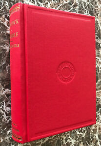 Moby Dick, by Herman Melville, Deluxe Facsimile of 1851 First Edition
