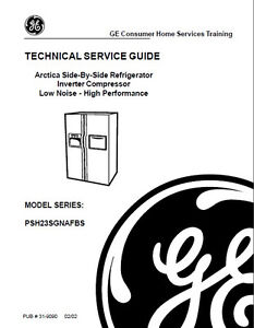 Details about One Of Various GE Refrigerator Service & Repair Manuals