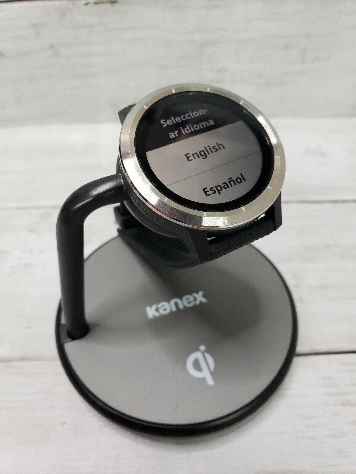 Garmin vivoactive 3 GPS Smartwatch Stainless Steel / Black - Heart Rate