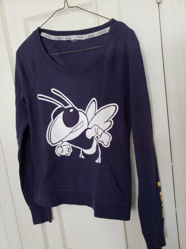 Popular Brand Pink Blue Sweatshirt