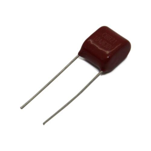 4x Condensador de Polipropileno 820nF MPP-820NR20//630 20 mm ± 5/% 29x9.8x17.8mm
