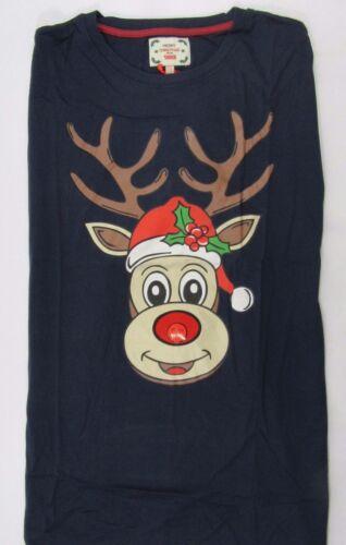 Big Size Mens Kingsize Novelty Christmas T Shirt Reindeer Penguin Blue Xmas 43