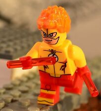YJ Custom made for LEGO blocks KID FLASH Young Justice Wally West DC Superheroes