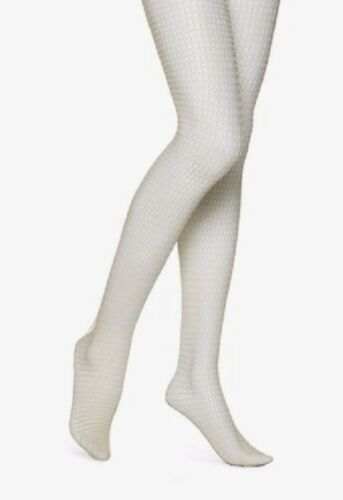 HUE U13509 Sand Beige Box Net Tights MSRP $13.50