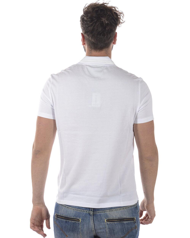 Vêtements et accessoires POLO T-SHIRT UOMO BCM BIANCA FANTASIA STAMPA REGULAR FIT COTONE T shirt