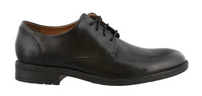 Clarks Truxton Plain Waterproof Lace Up Shoes Leather Mens Dress Lace Up Shoes