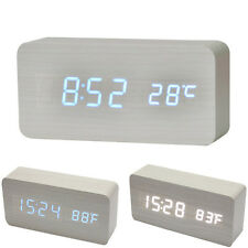 Temperatur Klingt Clock Control Display elektronischen Desktop-LED Alarm Vogue