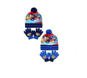 Oficial-Ninos-Paw-Patrol-Bobble-Sombrero-amp-Guantes-Set-2-Colores