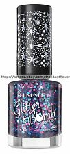 RIMMEL Glitter Bomb Top Coat #021 BEDAZZLE Nail Polish LIMITED EDITION 2014