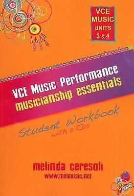 VCE Music Performance Musicianship Essentials: Student Workbook: VCE Music...
