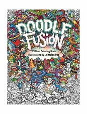 Doodle Fusion Zifflins Coloring Book Volume 2 Free Shipping