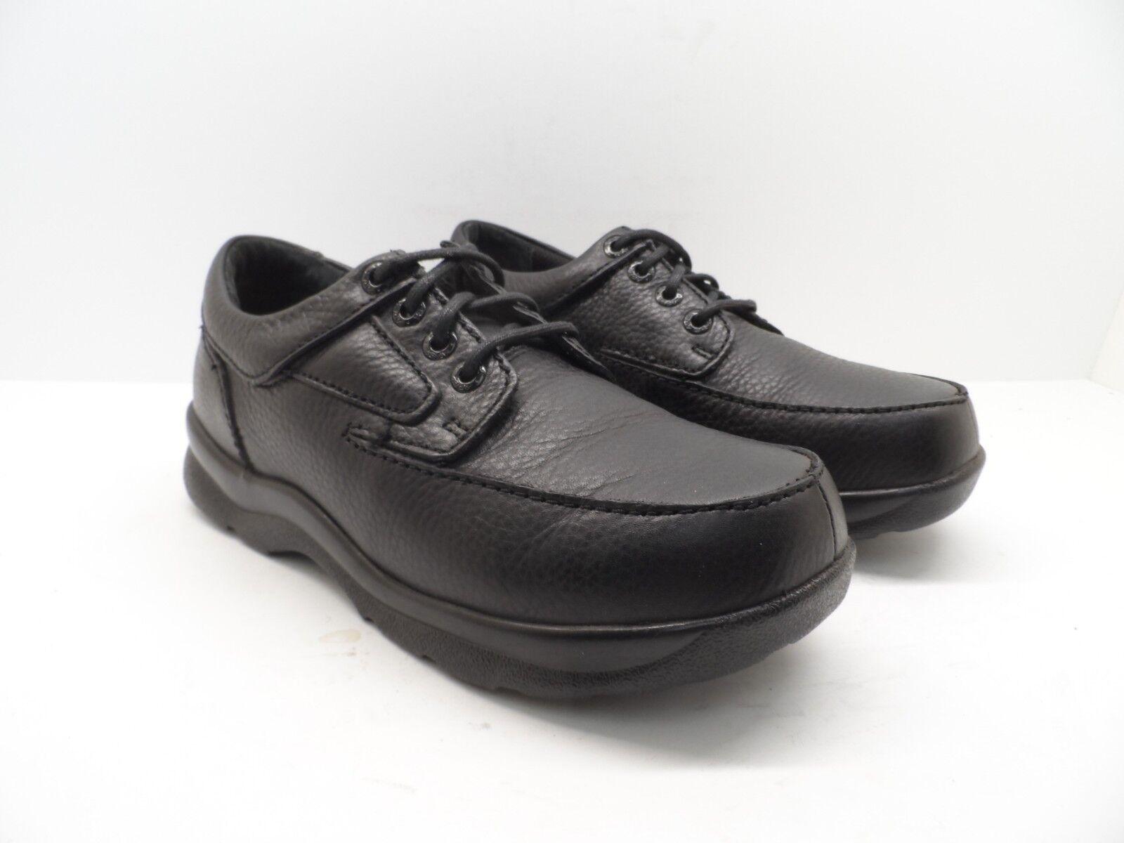 Apex Men's Casual Ariya Moc Toe Oxford Casual Men's Shoes - Y900 Black Size 7.5 Wide e66d23