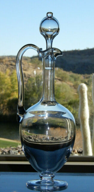 Awesome HTF Baccarat Crystal Carafe/Decanter 13