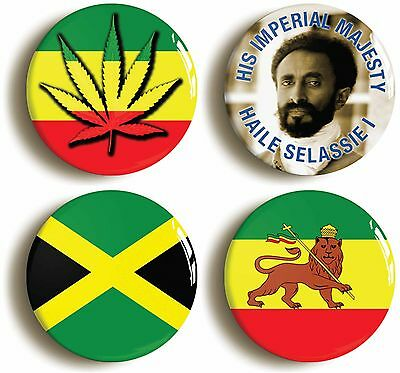 Bob Marley Reggae Stoner Rastafarian 25mm 1 Inch D Pin Button Badge