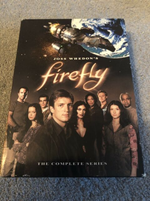 Joss Whedon's Firefly - The Complete Series (DVD, 2009, 4-Disc Set)Region 1