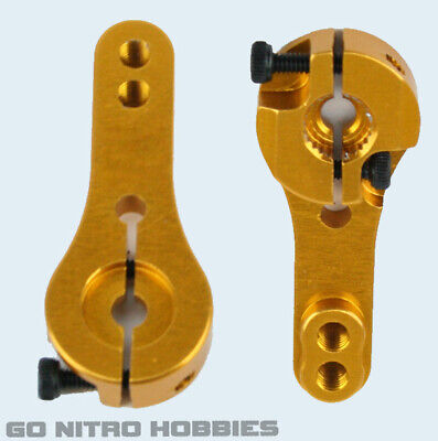 NEW HD 23T Alum Servo Arm//Horn JR//Airtronics /& KO Golden FREE US SHIP