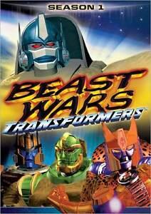 TRANSFORMERS BEAST WARS: SEASON 1 (Garry Chalk) - DVD - Region 1 Sealed 826663125450
