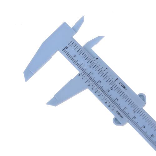 6Inch 150mm Plastic Ruler Sliding Gauge Vernier Caliper Jewelry Measuring  SEAU