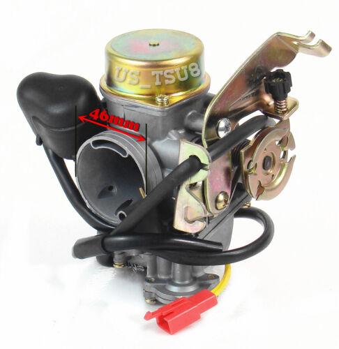 【New /& Freeship】 Carburetor for 125cc to 250cc GY6 4-Stroke Engines ATV Go karts