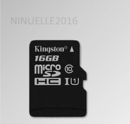 Kingston Handy Speicherkarte Micro sd micro sd SDHC 16GB Klasse 10 16 GB 80 MB//s