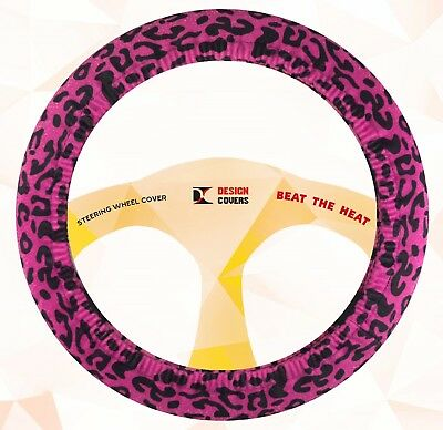 steering wheel cover hot pink  velvet material,nice and soft