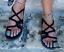 Womens-Bohemia-Flats-Lace-Up-Sandals-Casual-Summer-Beach-Shoes-Flip-Flops-Size