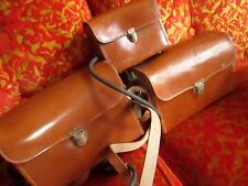 Lot 3 Vintage Leather Camera Battery Flash Remote Power Cases