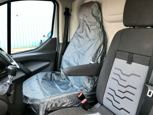 Heavy Duty Grey 100/% Waterproof Single Seat Cover Rubber Backed Protection