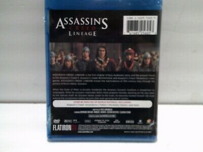 Assassins Creed Lineage Blu Ray Disc 2011 New Sealed Videogame Movie 767685256053 Ebay
