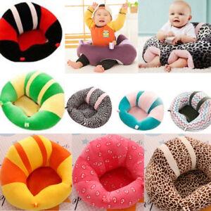 b46349b2eb8 Kids Baby Support Seat Sit Up Soft Chair Cushion Sofa Plush Pillow ...