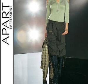 46 Khaki stile legare stravaganti cargo pantaloni Novità 817616 da stretch 44 Cintura Apart zZHgnqTw