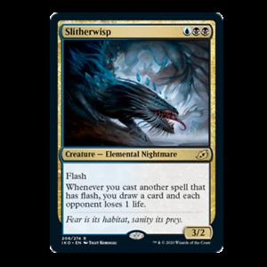 x4 Slitherwisp 208//274 rare Ikoria Lair of Behemoths