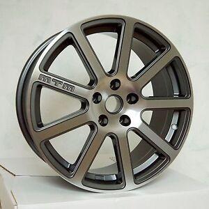 MTM-Bimoto-Felge-8x18-5x100-ET-35-Titan-Poliert-Rad-Alufelge-Audi-VW-Seat-Skoda