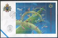 "32835) SAN MARINO 2001 FDC ""Uff. San Marino"" Natale"