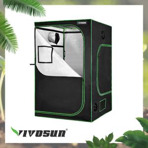"VIVOSUN 48""x48""x80"" Mylar Hydroponic Grow Tent for Indoor Plant Growing 4' x4'"
