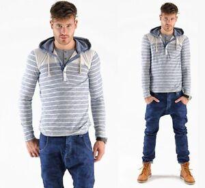 Shirt Hi end Pullover Hooded 2in1 Vsct Polo I70qzn5w