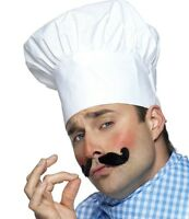 Fancy Dress Chef Hat Cook Chefs Cooks White Cap Gents Hat New by Smiffys