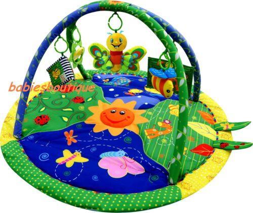 Baby Light /& Musical Garden Bugs Adventure Gym Activity Playmat Play Mat Toy