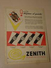 ZENITH OROLOGIO CLOCK=ANNI '50=PUBBLICITA=ADVERTISING=WERBUNG=379