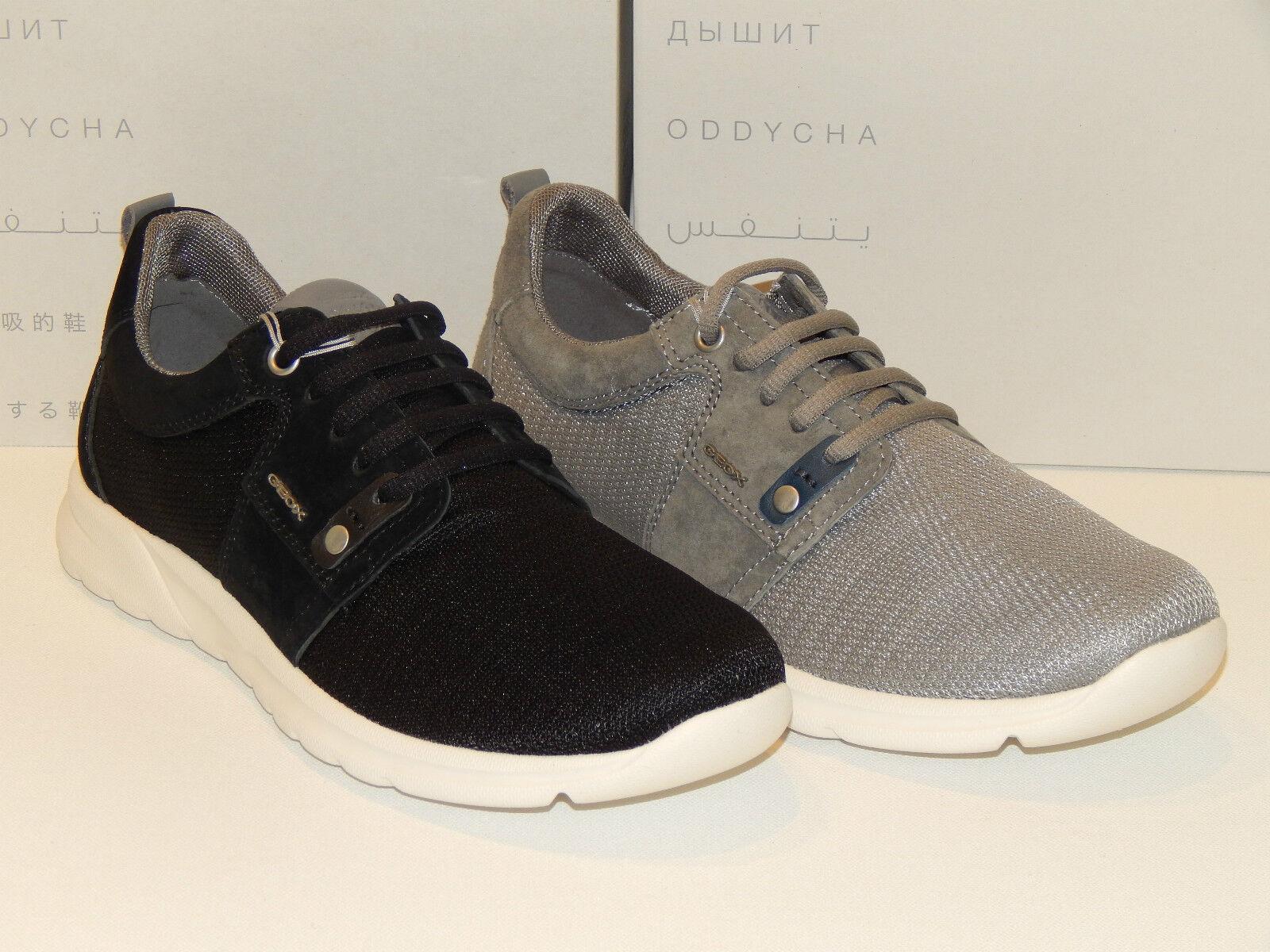 Geox Respira U Damian B  Schuhe Turnschuhe  Leder Sneaker 41 42 43 44 45 46