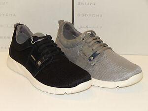 Herrenschuhe Geox Sneaker schwarz (41,43,45) Textil