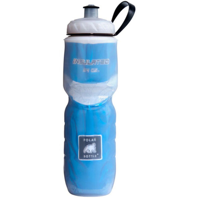 Polar Bottle 24oz Insulated Water Drink Bottle BPA FREE - BLUE 0031