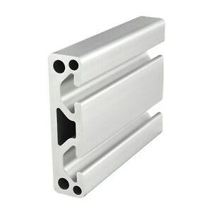 "80/20 Inc T-Slot 3"" x .75"" Smooth Aluminum Extrusion 15 Series 3075 x 72"" N"