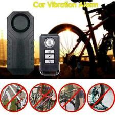 Motorcycle Bike Wireless Remote Control Vibration Alarm X1C6 Security U3Y2 N2F9