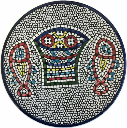 Medium III Miracle of Loaves and Fish Armenian ceramic plate Tabgha 5.2